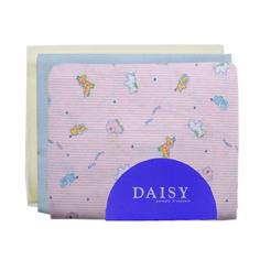 Пеленка Daisy трикотажная 95*120 розовая 3 шт