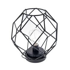 Подсвечник Русские подарки Геометрия с LED подсветкой 20x21 см