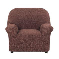 Чехол на кресло Микрофибра Какао Еврочехол