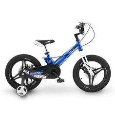"""Велосипед Двухколесный Детский Maxiscoo Space, Делюкс, 18"""", Голубой Перламутр"""