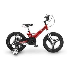 """Велосипед Двухколесный Детский Maxiscoo Space, Делюкс, 16"""", Красный"""