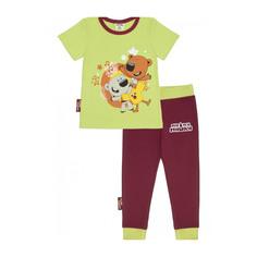 Пижама Lucky Child с брюками МИ-МИ-МИШКИ зеленая 92-98