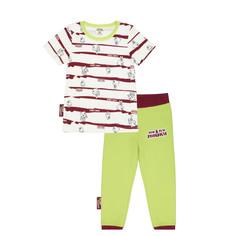 Пижама Lucky Child с брюками МИ-МИ-МИШКИ полосатая 92-98
