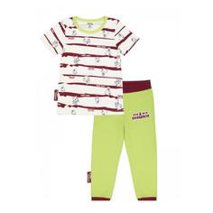 Пижама Lucky Child с брюками МИ-МИ-МИШКИ полосатая 122-128