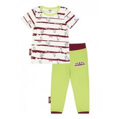 Пижама Lucky Child с брюками МИ-МИ-МИШКИ полосатая 110-116