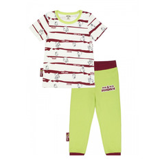 Пижама Lucky Child с брюками МИ-МИ-МИШКИ полосатая 104-110