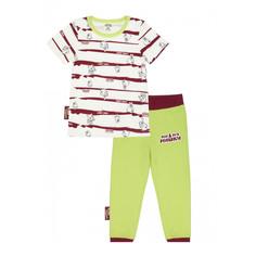 Пижама Lucky Child с брюками МИ-МИ-МИШКИ полосатая 98-104