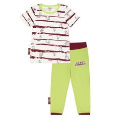 Пижама Lucky Child с брюками МИ-МИ-МИШКИ с брюками полосатая 86-92