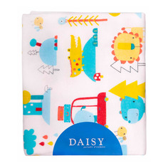 Пеленка Daisy фланель Машинки 90*150
