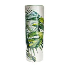 Ваза декоративная Русские подарки Тропики фарфор 26 см