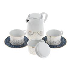 Сервиз чайный 6 предметов Spal Cosmopolitan aqua