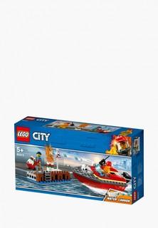 Конструктор LEGO City 60213 Пожар в порту