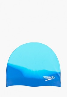 Speedo Plain Moulded SILC Cap JU Blue