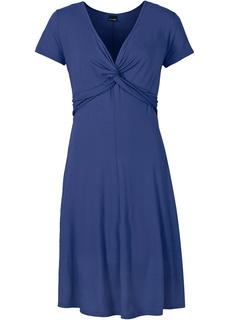 Платья с коротким рукавом Трикотажное платье Bonprix