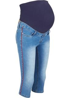 Капри джинсовые для беременных Bonprix
