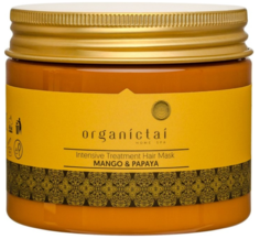 Organic Tai, Восстанавливающая маска для волос с манго и папайей Intensive Treatment Hair Mask Mango & Papaya, 150 мл