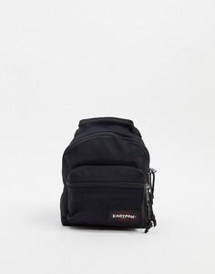 Черный маленький рюкзак с карманом спереди Eastpak