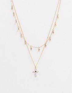 Ярусное ожерелье-чокер ALDO-Золотой