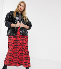 Эксклюзивная куртка с полиуретановым покрытием COLLUSION Plus-Черный