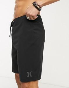 Черные пляжные шорты Hurley-Черный