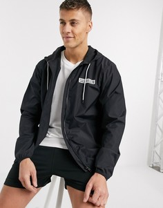 Черная ветровка с логотипом Calvin Klein Intense Power-Черный