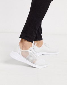 Белые кроссовки Lacoste-Белый
