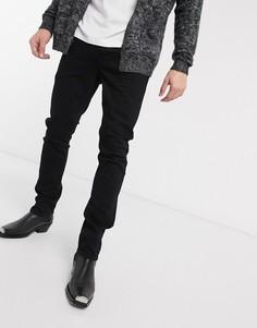 Черные узкие джинсы AllSaints-Черный