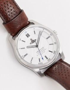 Наручные часы с коричневым ремешком Vivienne Westwood-Коричневый
