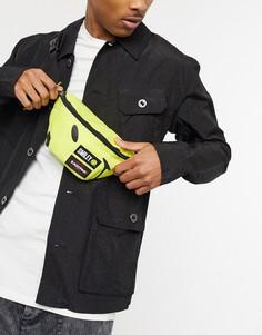 Желтая сумка-кошелек на пояс объемом 2 л Eastpak X Smiley-Желтый