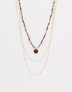Ярусное ожерелье ALDO-Золотой