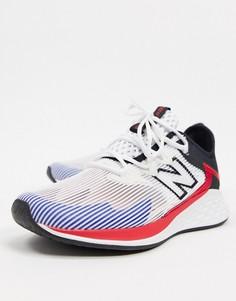 Белые кроссовки New Balance Running Roav Haze-Белый