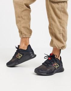 Черные кроссовки New Balance Running Roav Haze-Черный