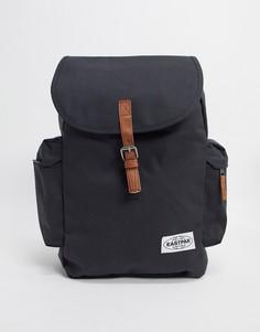 Рюкзак с ремешками контрастного цвета Eastpak-Черный