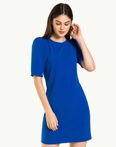 Синее платье с «фонариками» Gloria Jeans
