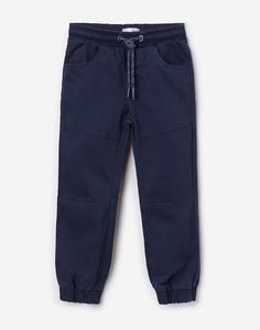 Синие брюки-джоггеры для мальчика Gloria Jeans
