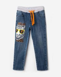 Джинсы с принтом для мальчика Gloria Jeans