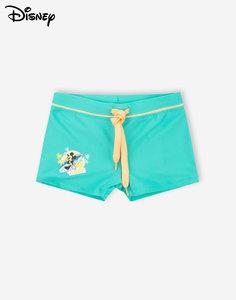 Бирюзовые плавки-шорты с Микки Маусом для мальчика Gloria Jeans