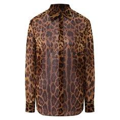 Блузы Dolce & Gabbana Шелковая блузка Dolce & Gabbana