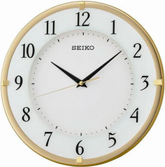 Настенные часы Seiko Clock QXA658G. Коллекция Настенные часы
