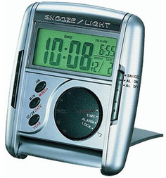 Будильник Seiko Clock QHL004SN. Коллекция Интерьерные часы