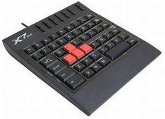 Клавиатура A4Tech G100 Game USB (черный)