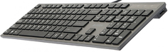 Клавиатура A4Tech KV-300H USB (серый)