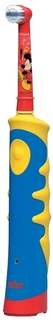 Электрическая зубная щетка Braun Oral-B Mickey Kids (желтый)