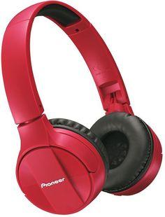 Наушники Pioneer SE-MJ553BT (красный)