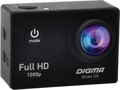 Экшн-камера Digma DiCam 145 (черный)