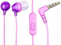 Наушники Sony MDR-EX15AP (фиолетовый)