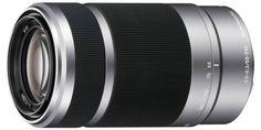 Объектив Sony SEL-55210 (серебристый)