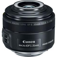 Объектив Canon EF-S 35 F2.8 IS STM MACRO (черный)