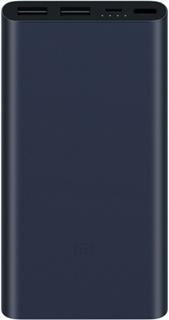 Портативное зарядное устройство Xiaomi Mi Power Bank 2S 10000 мАч (черный)