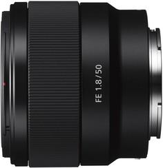 Объектив Sony SEL-50mm F1.8 F (черный)